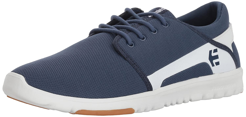 Etnies Scout Sneaker B076CJT9SQ 8.5 D(M) US|Dark Blue/White
