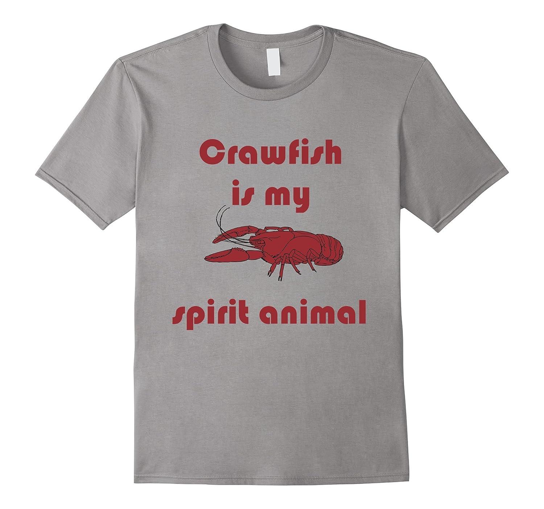 66593c9e Crawfish is My Spirit Animal Funny Louisiana Cajun Tee – Hntee.com