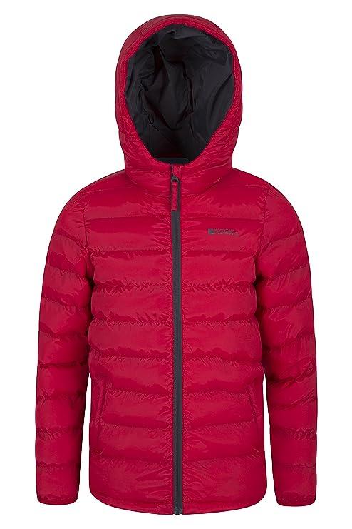 bd13e0590 Mountain Warehouse Explorer Kids Winter Jacket - Padded Red 11-12 ...