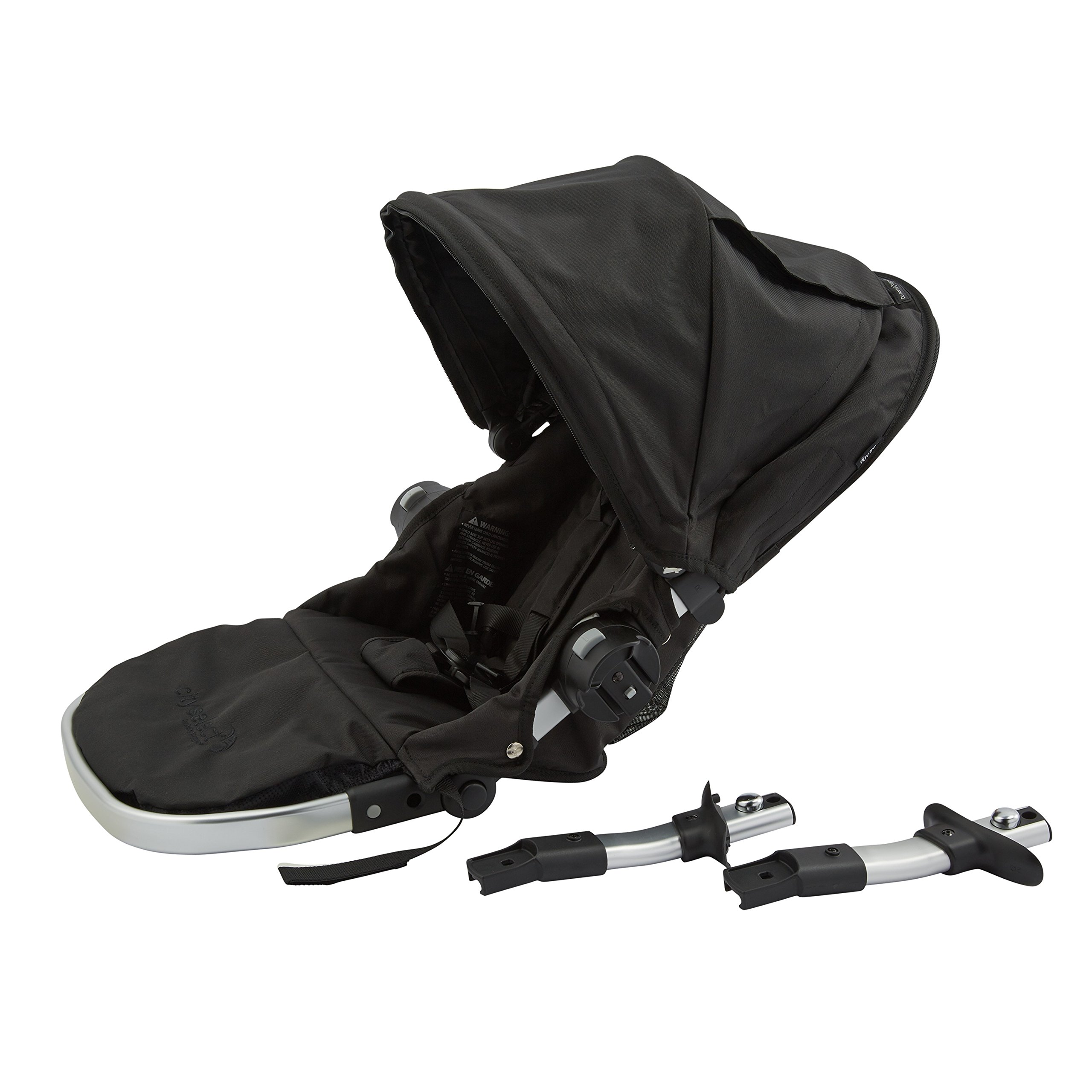 Baby Jogger City Select Second Seat Kit with Silver Frame, Onyx by Baby Jogger (Image #2)