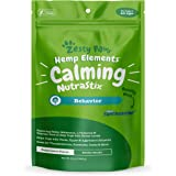 Calming Dental Sticks for Dogs - Stress & Anxiety Relief with Hemp, Melatonin & Chamomile - Dog Tartar Teeth Cleaning & Breat