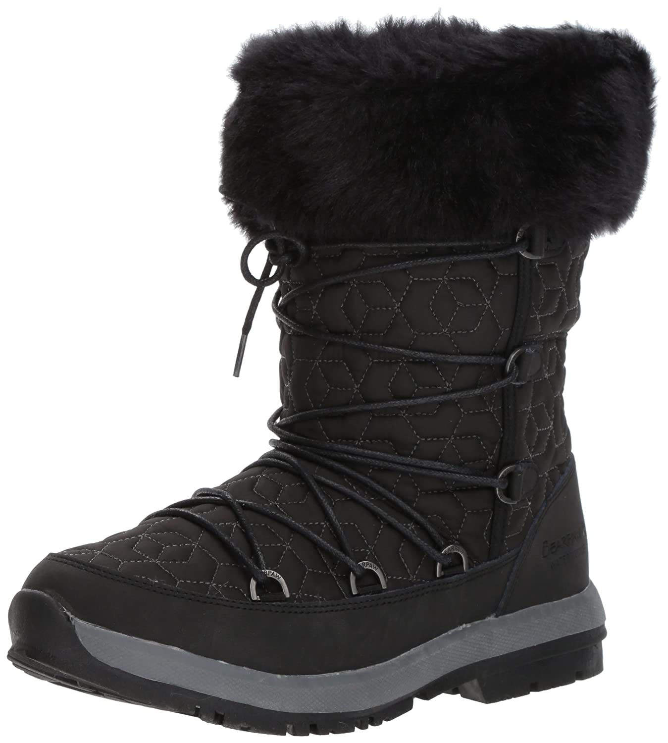 BEARPAW Women's Leslie Snow Boot B01DK4MIMU 11 B(M) US|Black