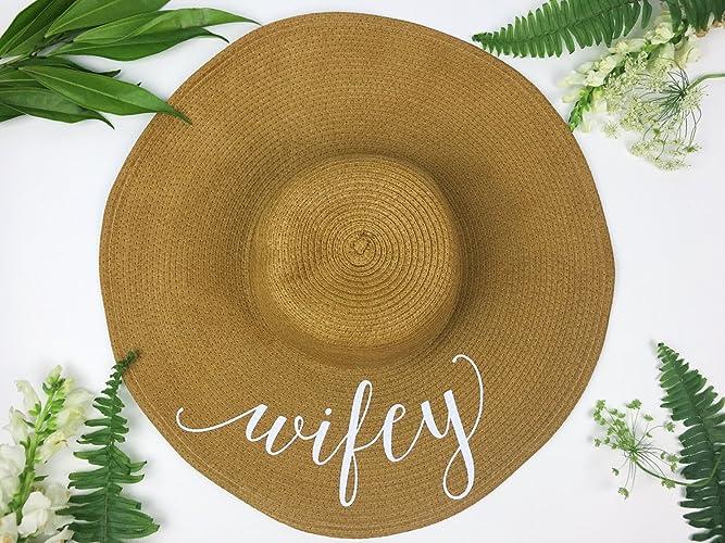 676285a72 Wifey Hat, Just Married Honeymoon Beach Floppy Hat, Bride Beach hat, Beach  Hat, Honeymoon Hat, Floppy Bride Hat, Just Married Hat, Honeymooning Hat