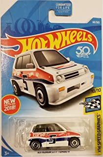 Hot Wheels 2018 50th Anniversary HW Speed Graphics Honda City Turbo II 68/365,