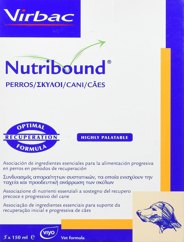Nutribound3Alimento complementario para perros- 3x150 ml
