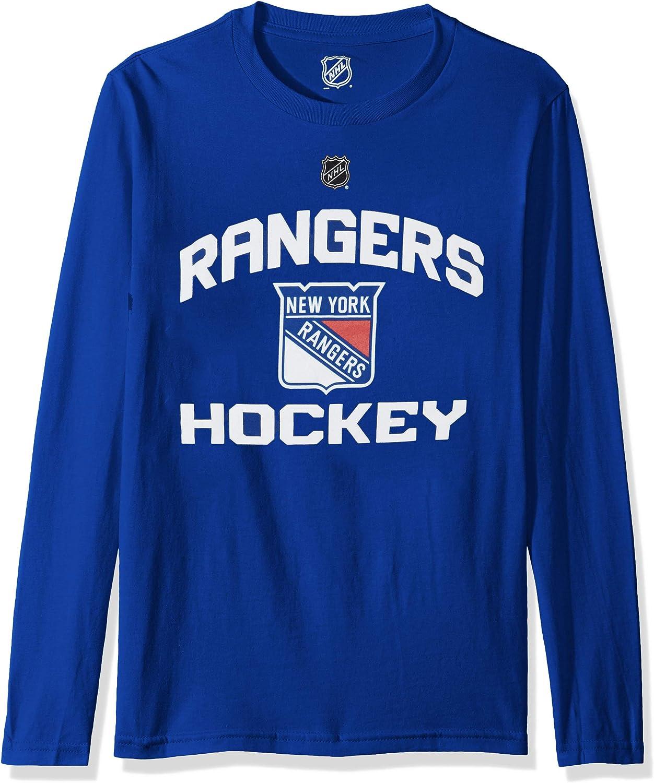 NHL by Outerstuff Youth Boys Locker Standard Arch Long Sleeve Tee