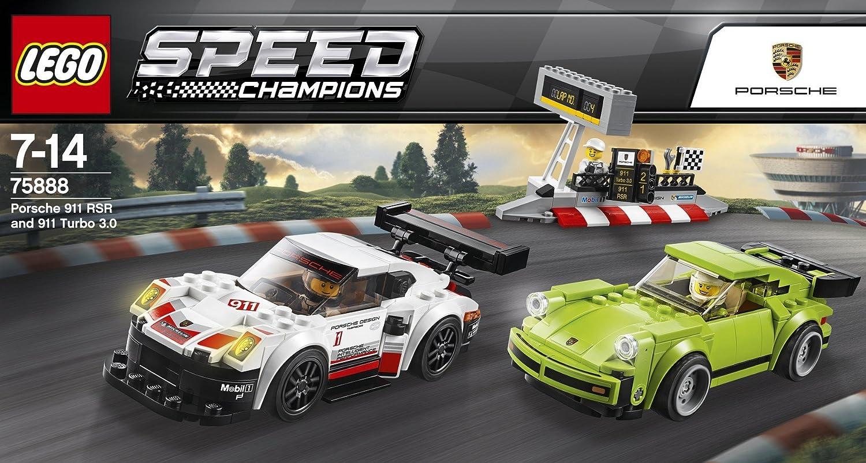 LEGO Speed 75888 Porsche 911 RSR e 911 Turbo 3.0