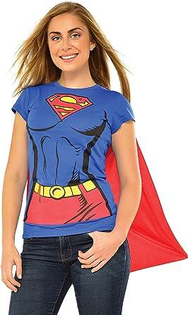 S L Wonder Woman Tank Kleid Damenkostüm Superheldin DC-Comics Superman Gr