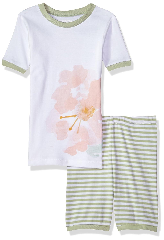 Burt's Bees Baby Baby Girls' Little Kids Organic Short Sleeve Pajama Set by Burt's Bees Baby