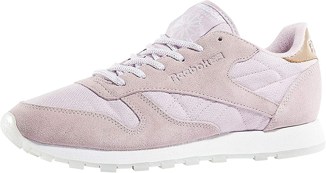 Reebok Femme Chaussures Baskets Classic Leather Sea Worn