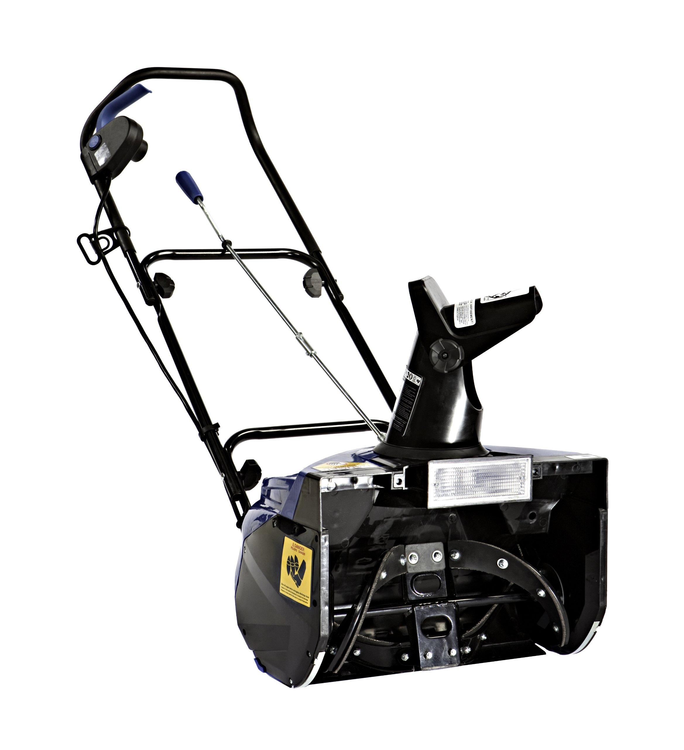 Snow Joe SJ621-RM Electric Single Stage Snow Thrower | 18-Inch | 13.5 Amp Motor | Headlights (Renewed) by Snow Joe