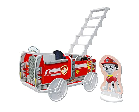 Multi-Color Jupiter Creations Inc 13011 Nickelodeon Build A Story Paw Patrol Rescue Vehicles Building Playset