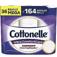 Deals on 36 Family Mega Rolls Cottonelle Ultra ComfortCare Toilet Paper