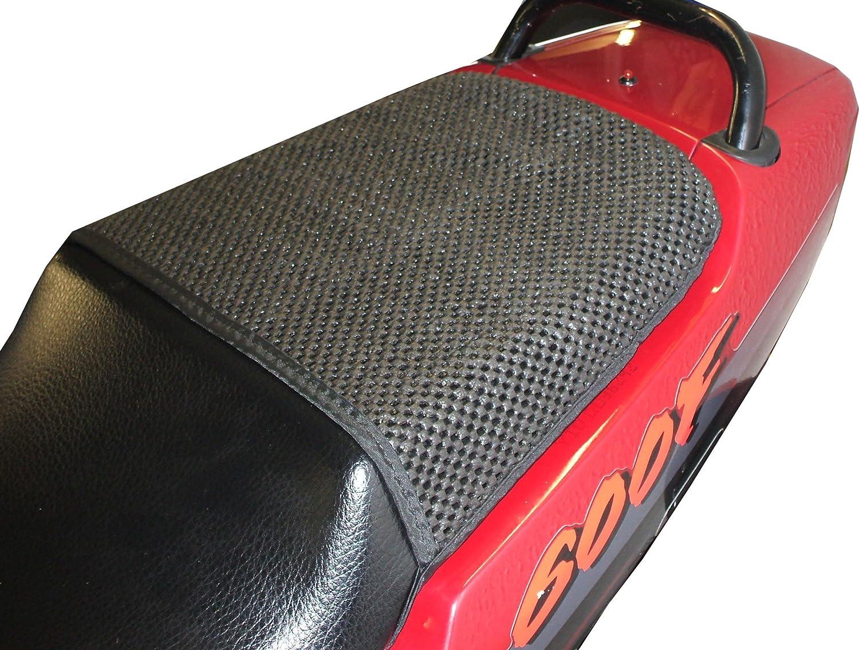 1991-1998 Triboseat Coprisella Passeggero Antiscivolo Nero Compatibile Con Honda CBR600F