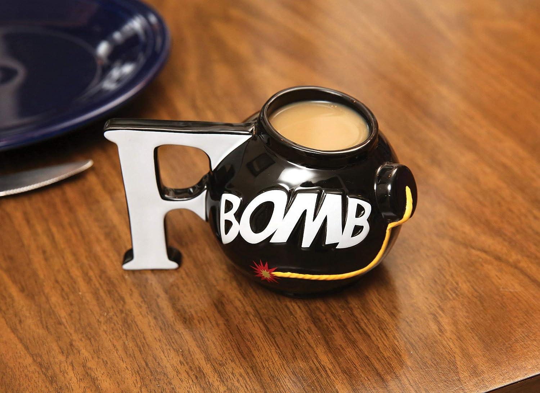 BigMouth BM1776 F-Bomb Mug, Black BigMouth Inc.