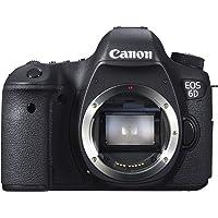 Canon EOS 6D 20.2MP Full HD 1080p Digital SLR Camera Body (Black)