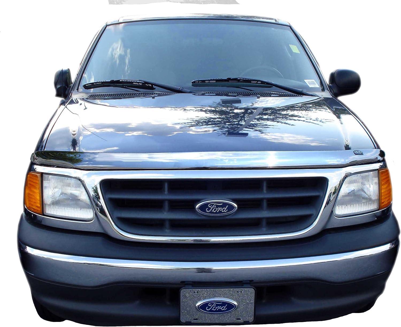 Auto Ventshade 622012 Aeroskin Large Chrome Hood Shield