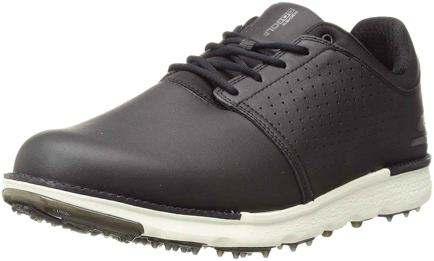 Skechers Men's Go Golf Elite 3 Approach Lx Walking Shoe B074RNWWYV 9 D(M) US|Black/White