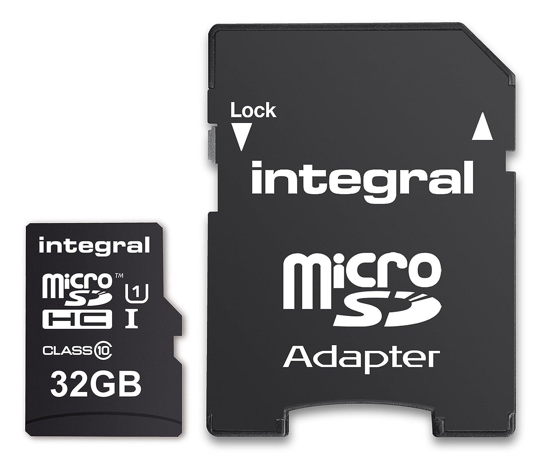 Tarjeta de Memoria Micro SDXC de 64 GB Clase 10 Integral INTF1064GB