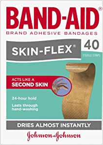 Band-Aid SkinFlex Strips Regular 40 Count