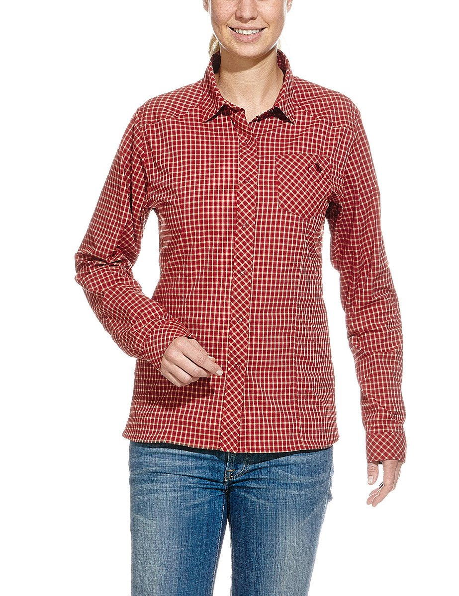 Tatonka Damen Blause Camden Long Sleeve Shirt