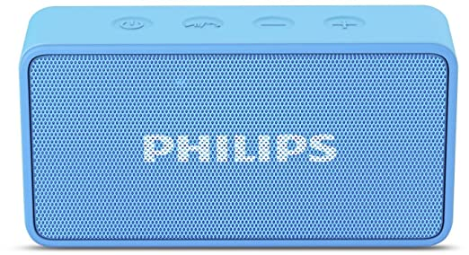 Philips BT64A Portable Bluetooth Speakers  Sky Blue