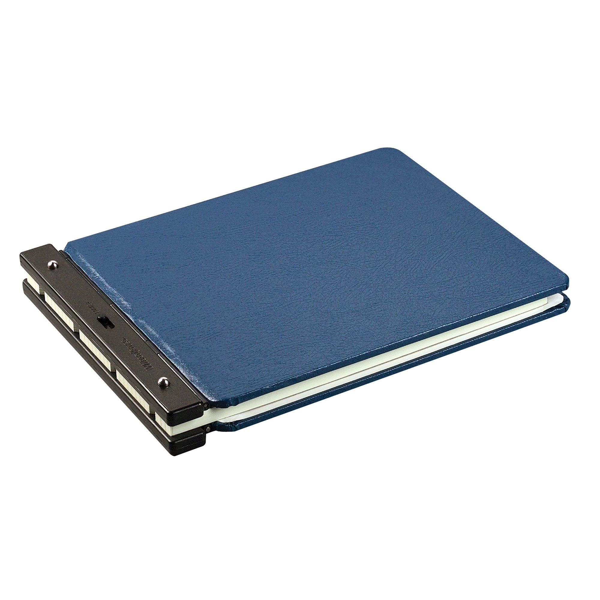 Wilson Jones Nomad Vinyl-Guarded Binder, 9 1/2 x 11 7/8 Inches, 5/16 Inch Post Diameter, Light Blue, (W226-40NA) by Wilson Jones