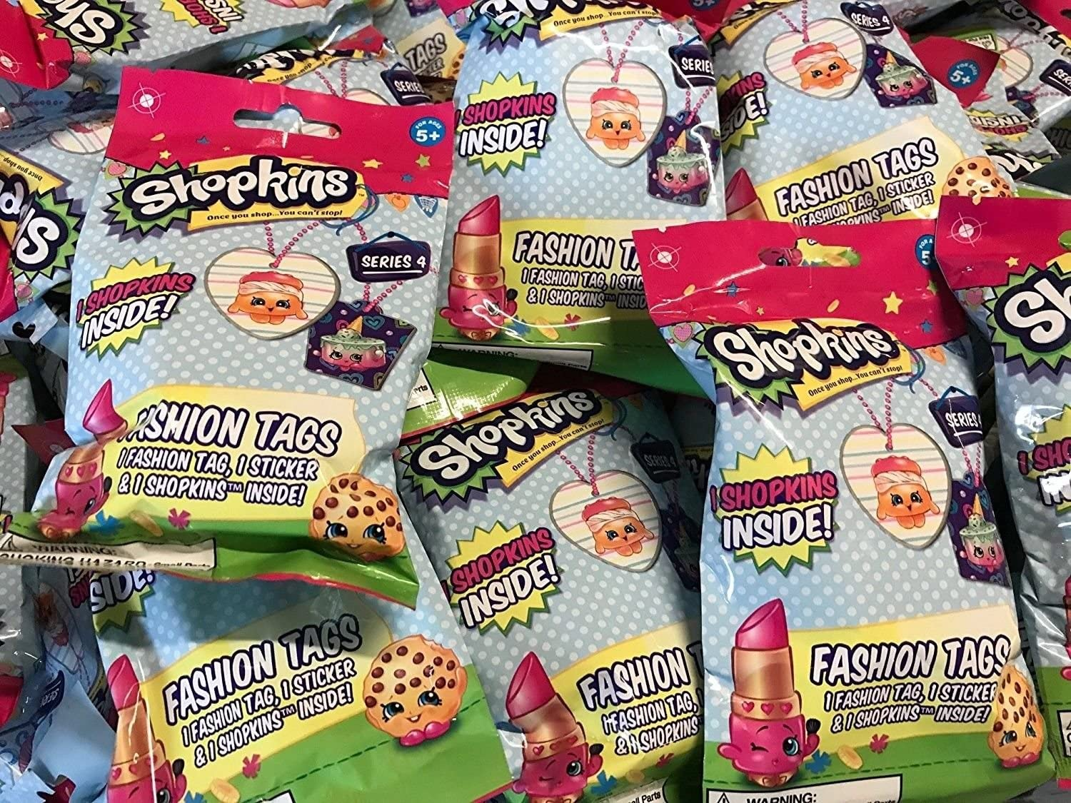 Details about  /SHOPKINS COLLECTOR TIN BOX SET-POPPY CORN TRADING CARDS STICKERS FASHION TAG NEW