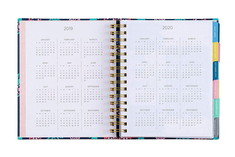 Amazon.com: Planificador de agenda en espiral Eccolo 2019 ...