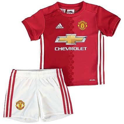official supplier best sale amazing selection adidas Enfants Heim équipement Manchester United Mini ...