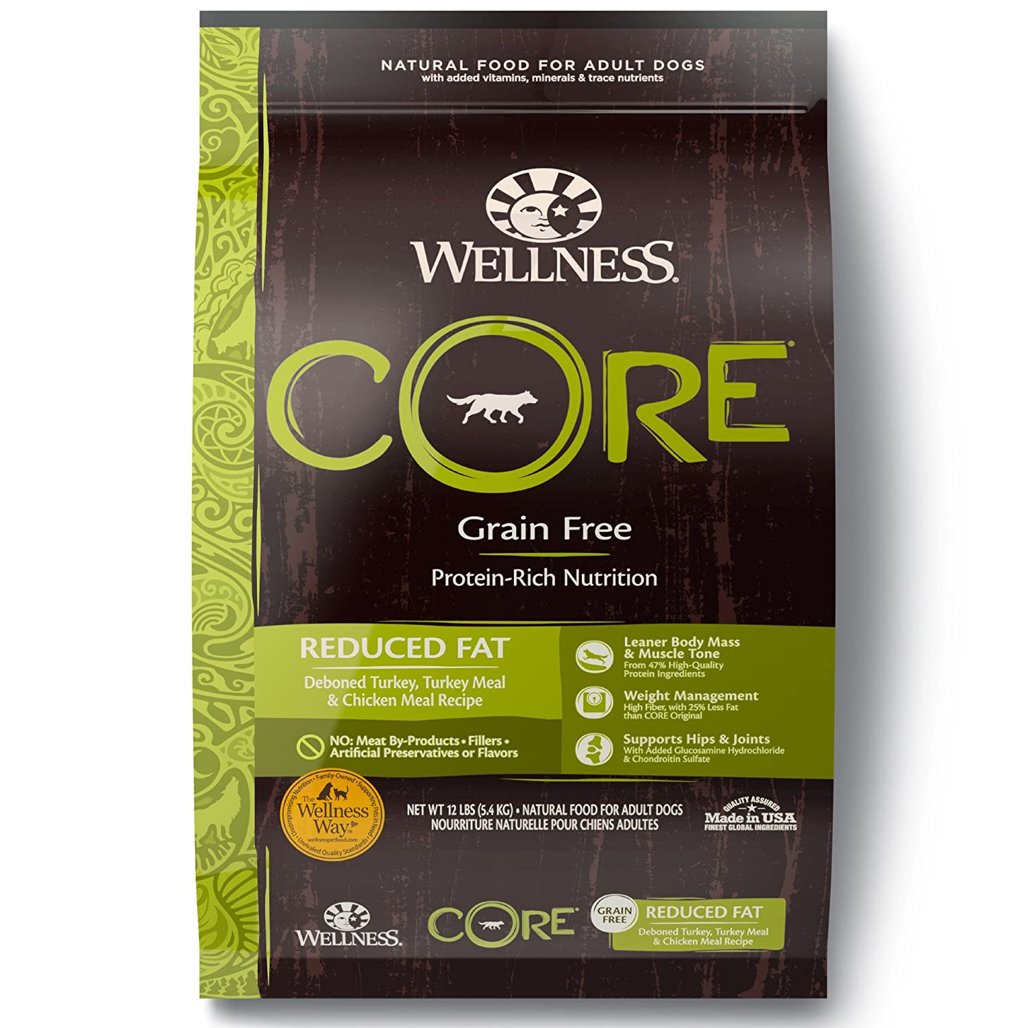Wellness Core Reduced Fat Dry Dog Food