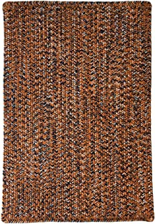 product image for Capel Rugs Team Spirit Area Rug, 3' x 5', Orange Navy