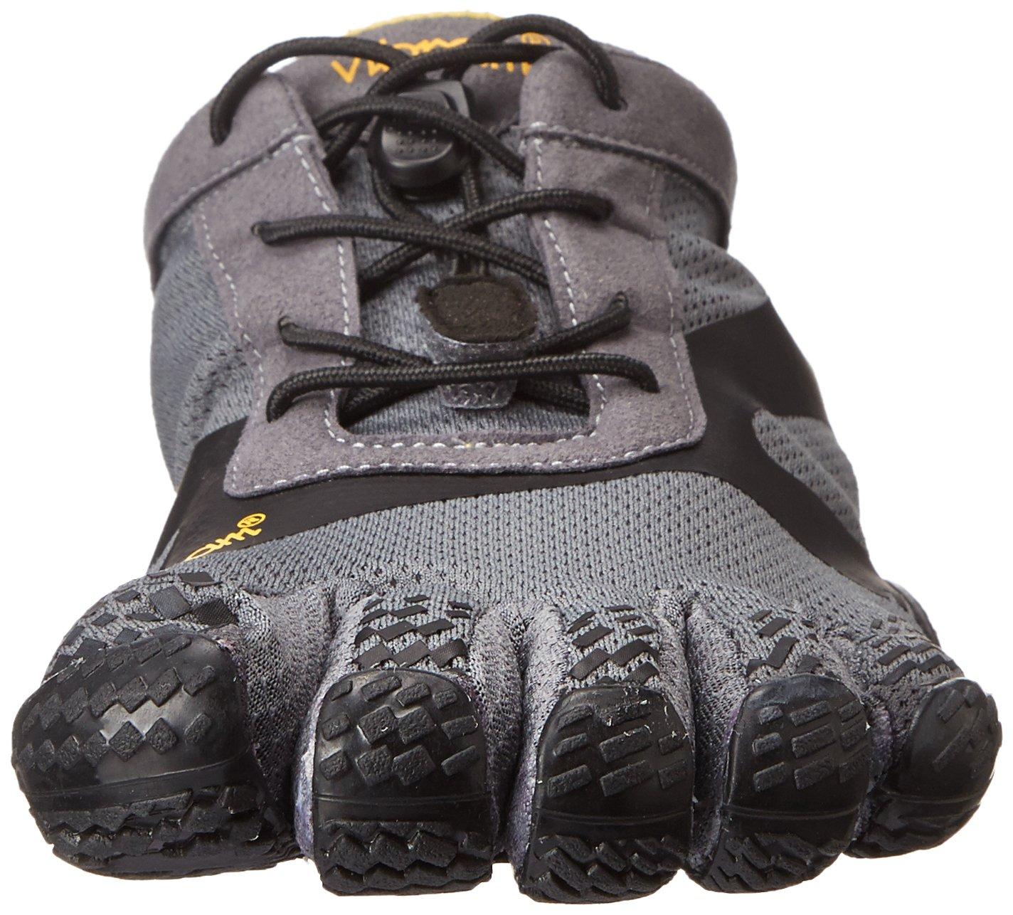 Vibram Men's KSO EVO Cross Training Shoe,Grey/Black,41 EU/8.5-9.0 M US by Vibram (Image #4)