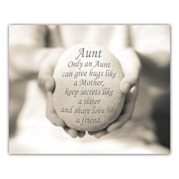 Amazoncom Aunt Quote Print Gift For Aunt Gift For Her Auntie