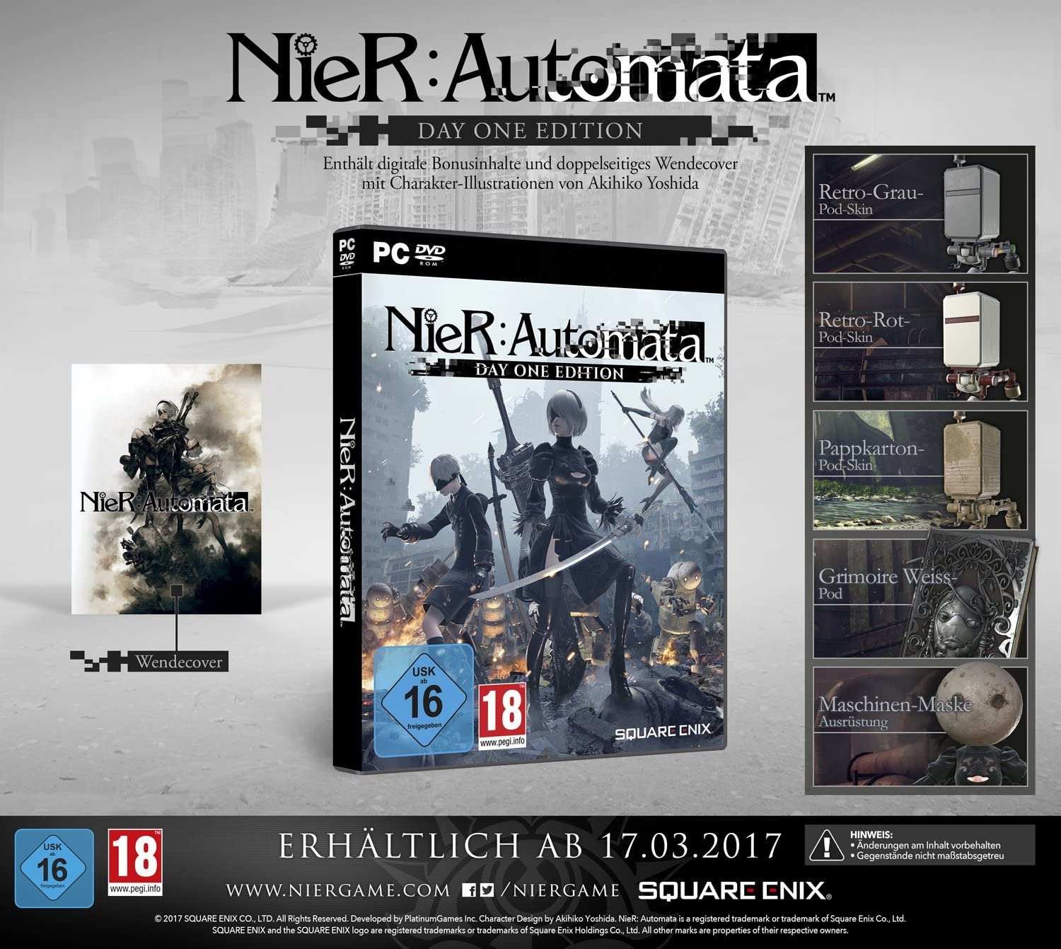 NieR: Automata - Day One Edition [Importación Alemana]: Amazon.es: Videojuegos