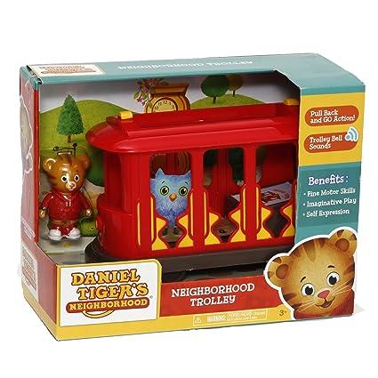 031f755ecb Giochi Preziosi - Daniel Tiger Modellino Giocattolo Tram a Retrocarica e  Personaggio Incluso: Amazon.it: Giochi e giocattoli