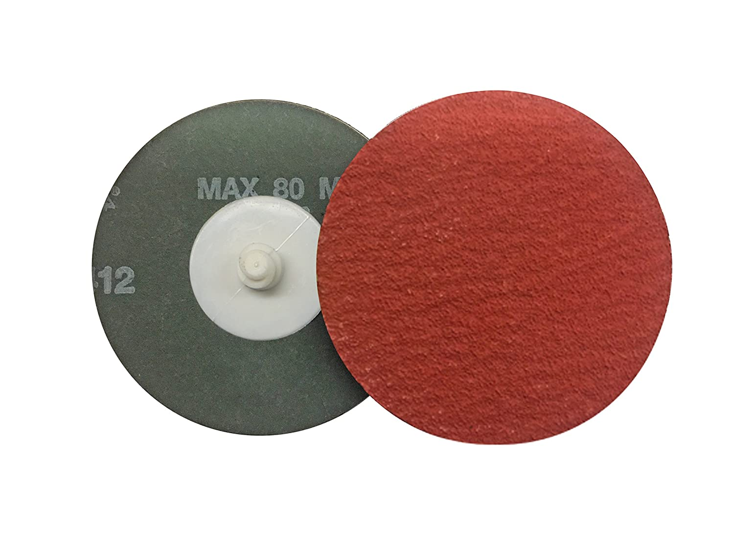VSM 2' Quick Change Resin Fiber Disc, 120 Grit, XF885 Ceramic+, Quick Change Type R, Fiber Backing, Pack of 25 VSM Abrasives Co. 150175