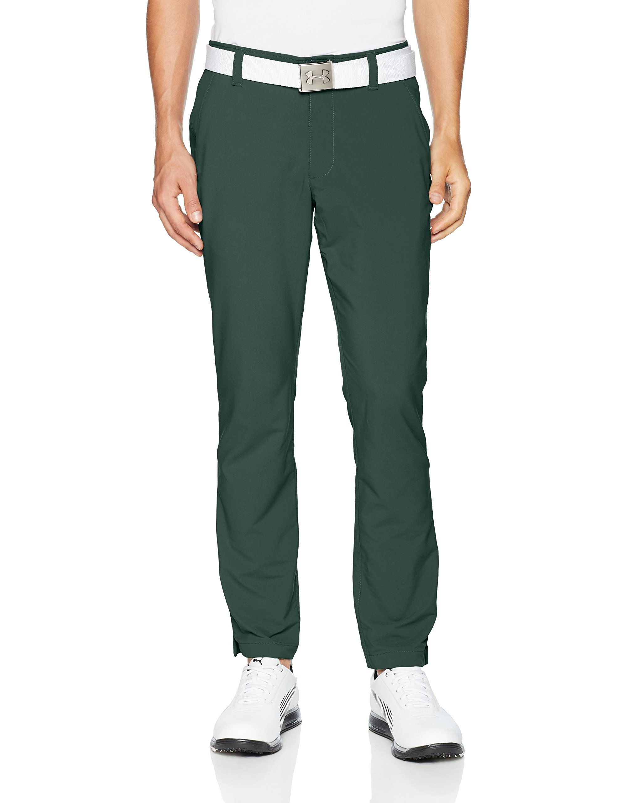 Under Armour Men's Match Play Golf Tapered Pants, Ivy (384)/Ivy, 30/30