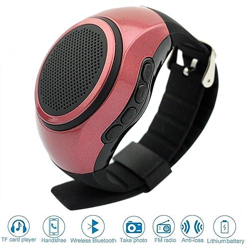 SVPRO Portable Wireless Bluetooth Speaker Watch,Multi-functional Bracelet Speaker Wristwatch with MP3