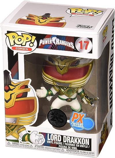 Power Rangers PX Exclusive Funko Pop Vinyl Figure - Lord Drakkon: Amazon.es: Juguetes y juegos