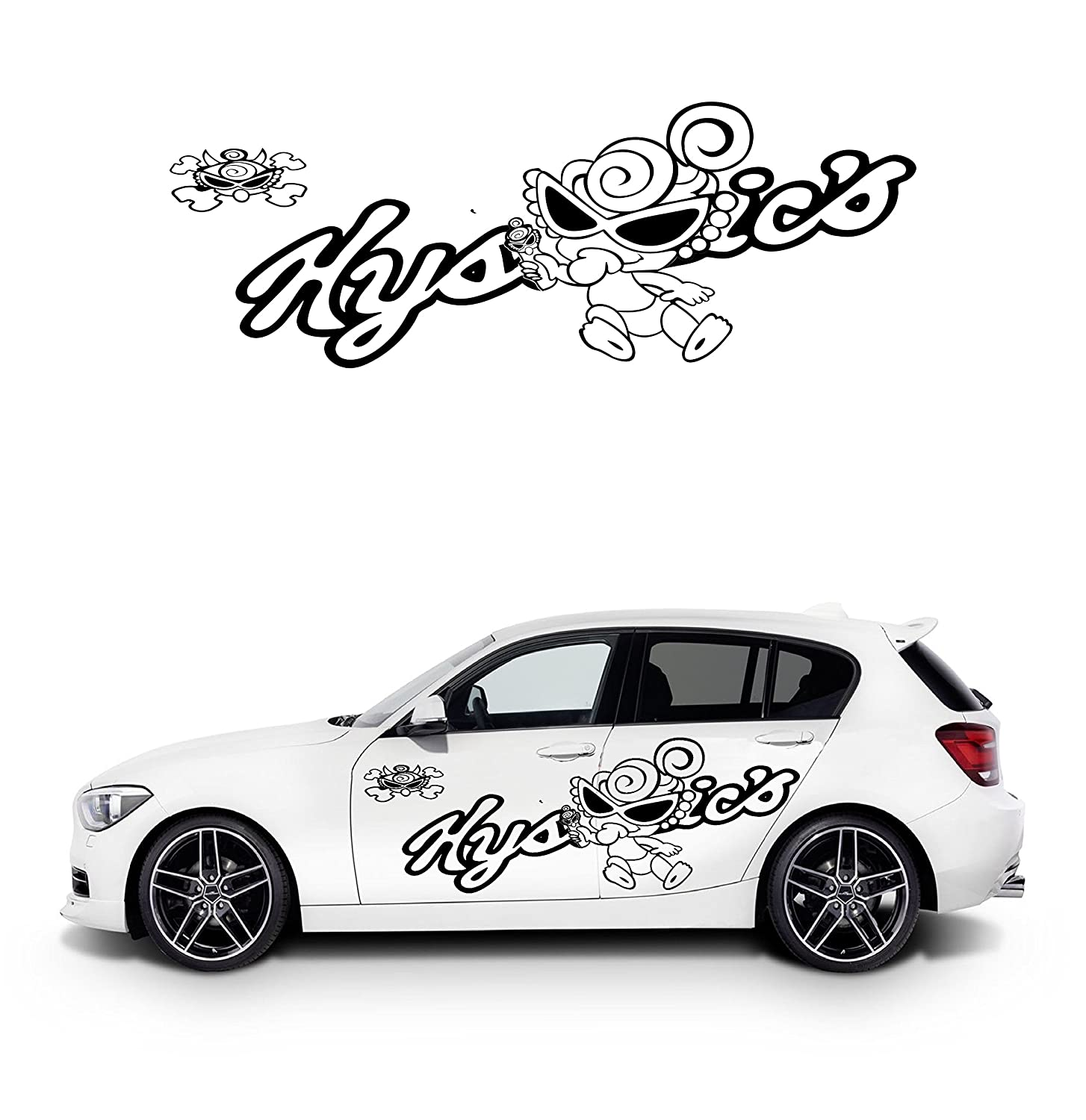 Amazon com full of fun and cute design car body sticker automotive