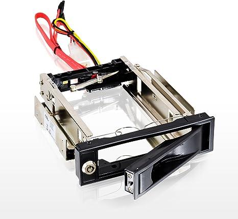 CSL - Caja extraíble 3,5 Pulgadas SATA Mobile Rack - Caja para Disco Duro SATA I II