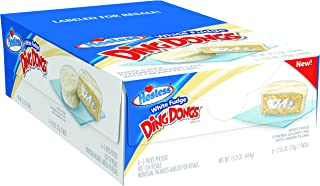 product image for Hostess Ding Dongs, White Fudge, 2.55 Ounce, 6 Count (Pack of 6)