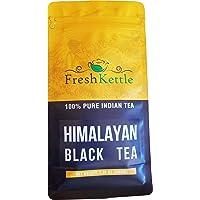 Freshcarton - Darjeeling Black Tea | 7.06oz / 200gm | Black Tea loose leaf from India in Himalayan region | High Energy…