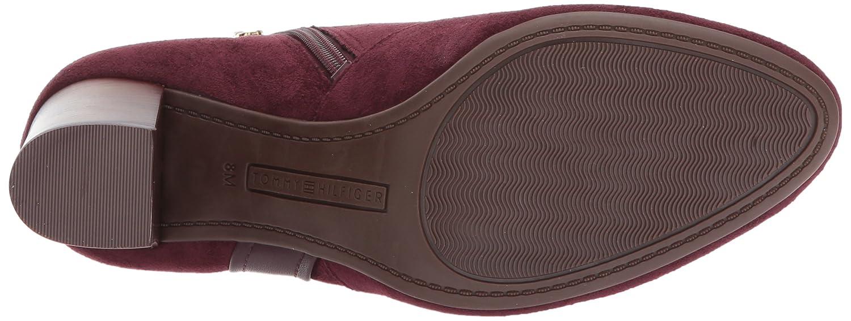 Tommy Hilfiger Women's Domain B(M) Ankle Boot B06ZZSB46R 5.5 B(M) Domain US Burgundy 1fafc7