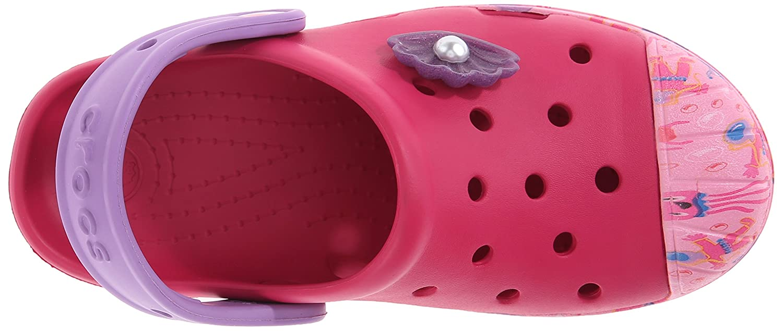 Mixte Enfant Sabots Crocs Bump It Sea Life K