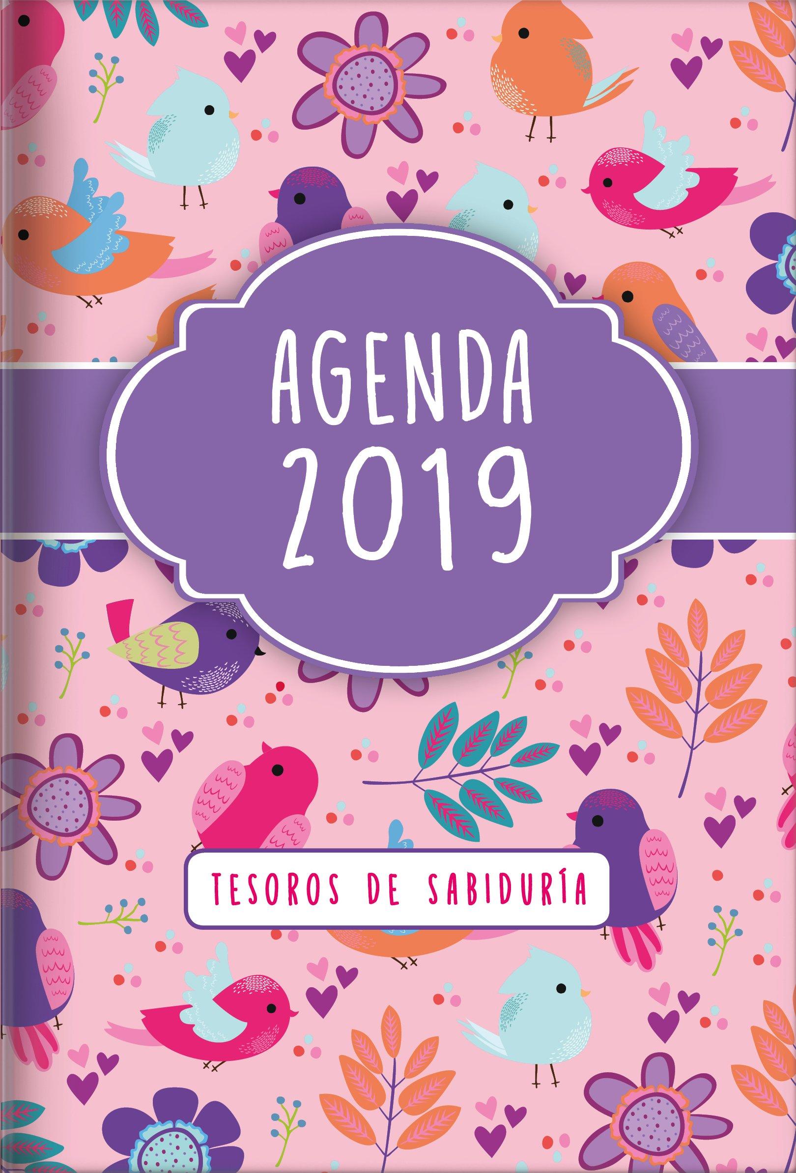Amazon.com: 2019 Agenda - Tesoros de Sabiduría - Aves: Con ...