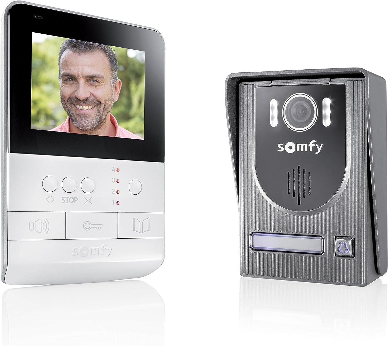 Somfy 2401330 - Visiophone V100, Interphone Vidéo écran 4 pouces | Vision...