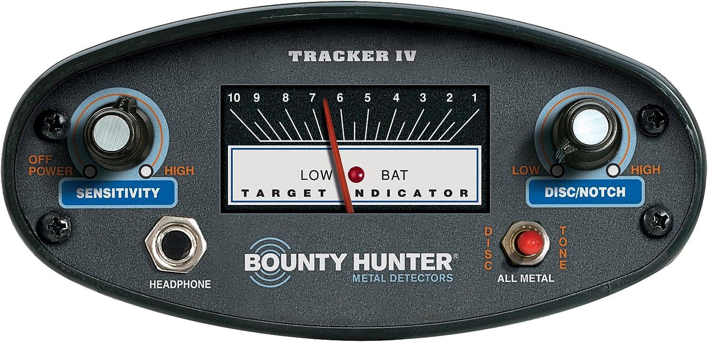 Amazon.com: Detector de metales Bounty Hunter TK4 ...