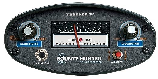 BOUNTY HUNTER TK4-PL - Detector de metales: Amazon.es: Industria, empresas y ciencia